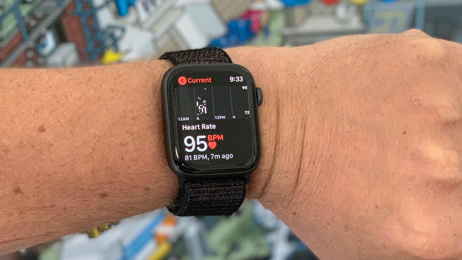 watchos 5 heart rate recording